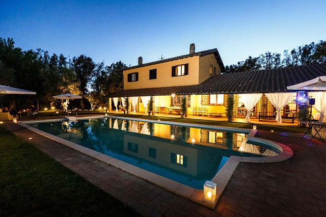 festa privata a Roma villa cicognani